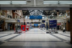 An Empty Airport During Covid-19