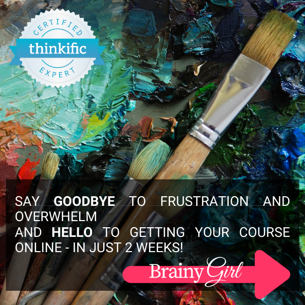 Get Your Art Classes On Thinkific In Two Weeks!
